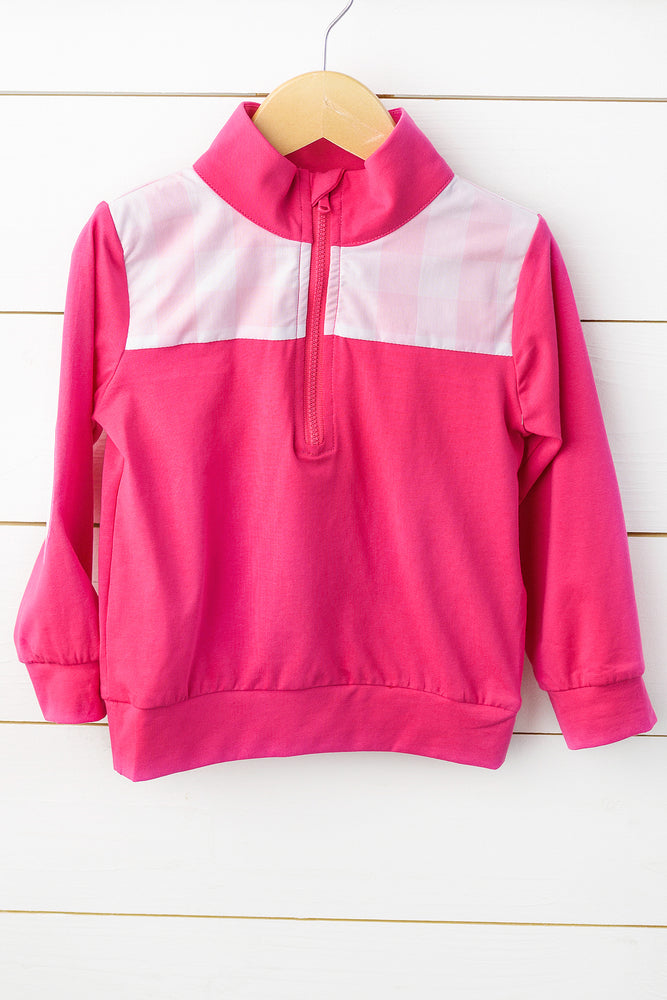 Knit Hot Pink Pullover