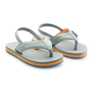 Load image into Gallery viewer, Boys Dunes - Gray  Flip Flops