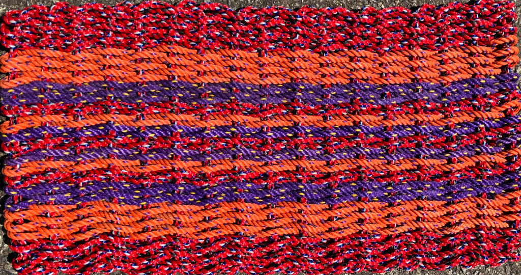 Sunset Bright Rag Rug