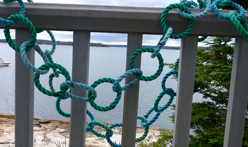Sea Glass Recycled Rope Roping