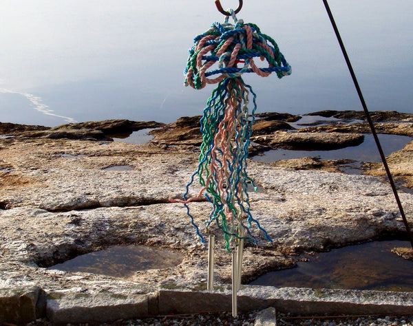 Jellyfish Rope Wind Chime