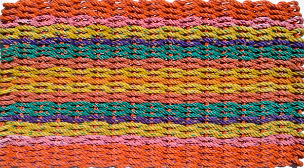 New England Bright Rag Rug