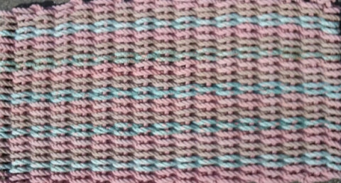 Sea Shell Rag Rug