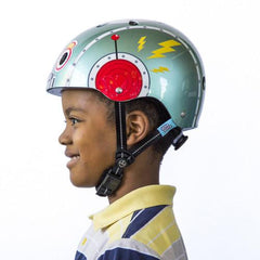 Tin Robot (Little Nutty) - Nutcase Helmets - 4