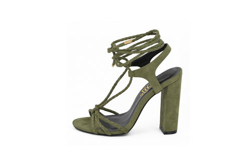 Olive Green Rope Tied