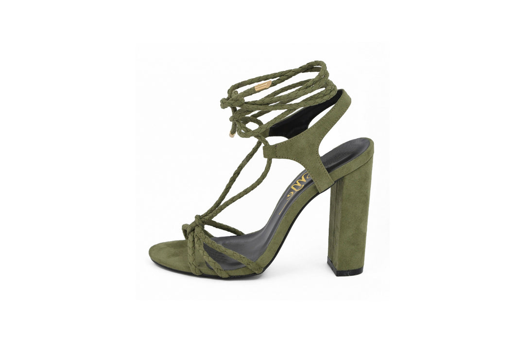 d63177aace4 Olive Green Rope Tied – Four Nine Shoe Closet