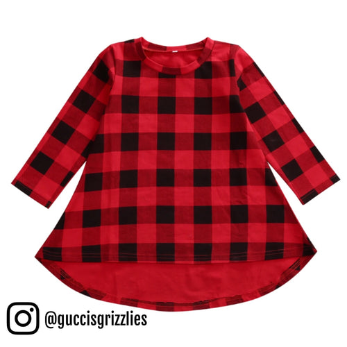 Red & Black Checkered