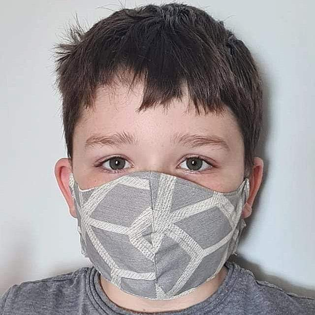 Lou Brown Designs face mask Boy Younger Child Face Mask (aged 3-5)