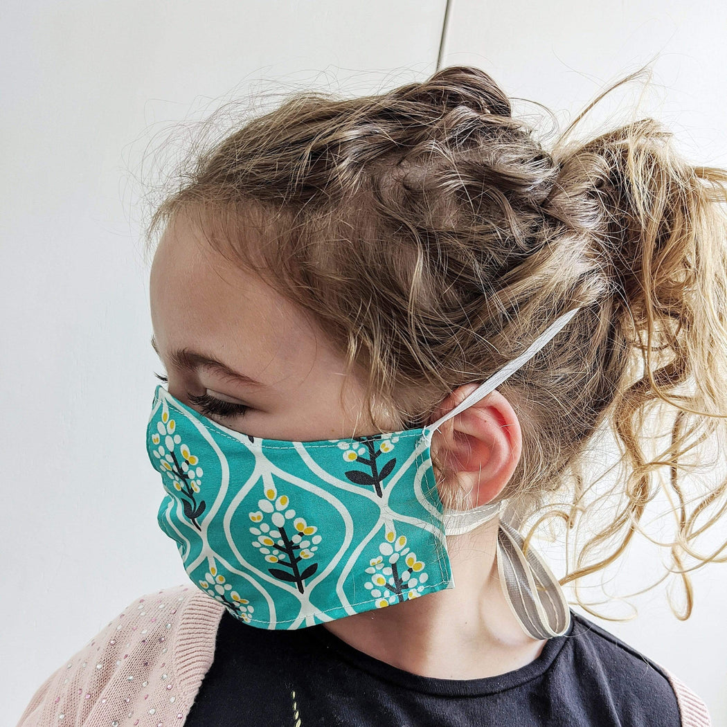 Lou Brown Designs face mask Girl Older Child Face Mask (aged 5-11)