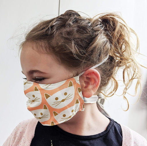 Lou Brown Designs face mask Older Child Female Face Mask (aged 5-11)
