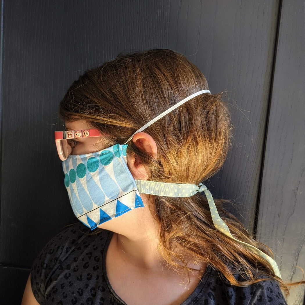 Lou Brown Designs face mask Younger Child Female Face Mask (aged 3-5)