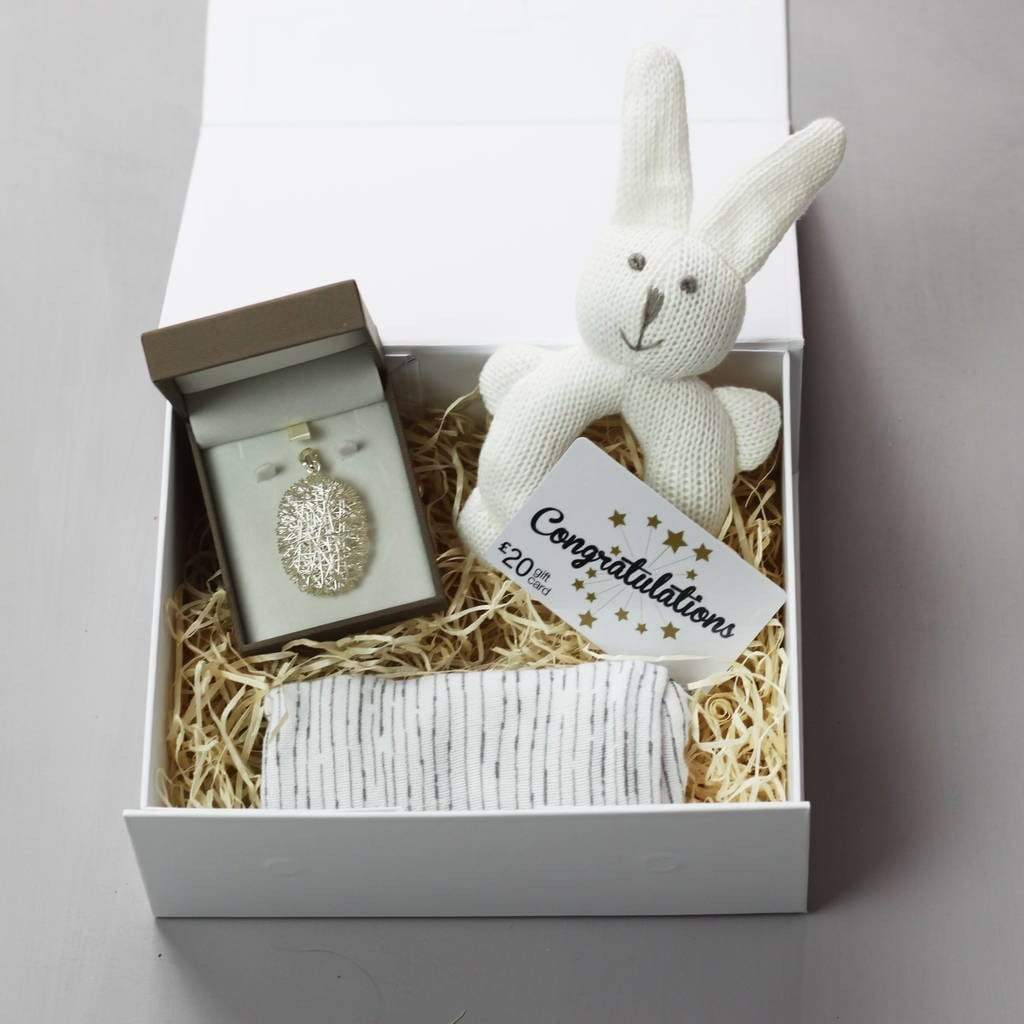 Lou Brown Designs Fill yourself box Personalised New Baby Gift Keepsake Box