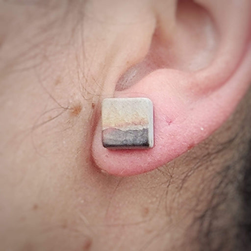 Concrete & Ink Jewellery Mountain Sunset Earrings