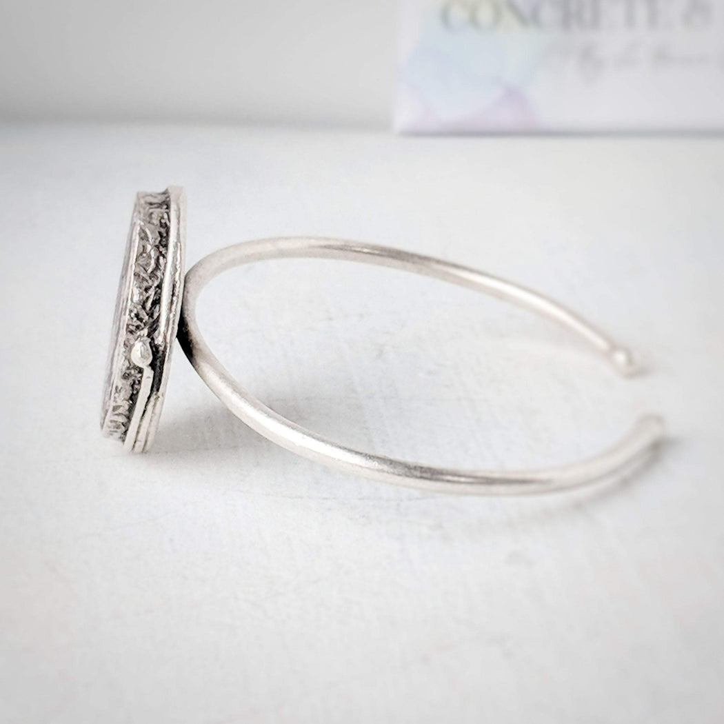 Concrete & Ink Jewellery Mountain View cuff bracelet