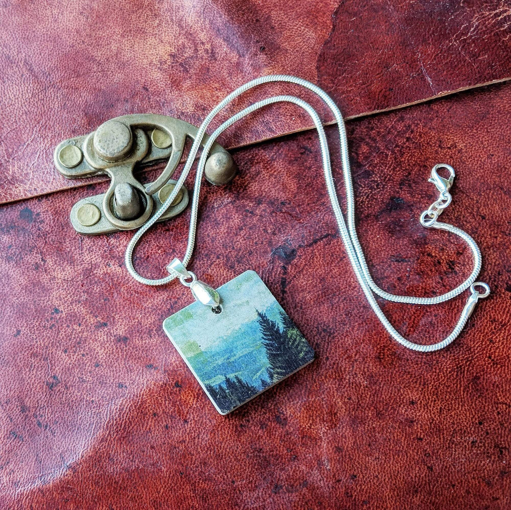 Concrete & Ink Jewellery Mountain View Necklace
