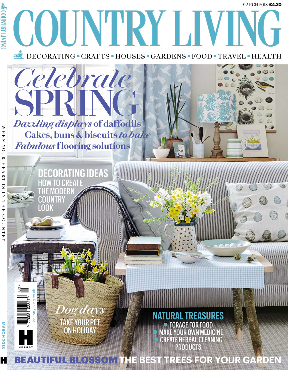 Country living tom raffield furniture and lighting