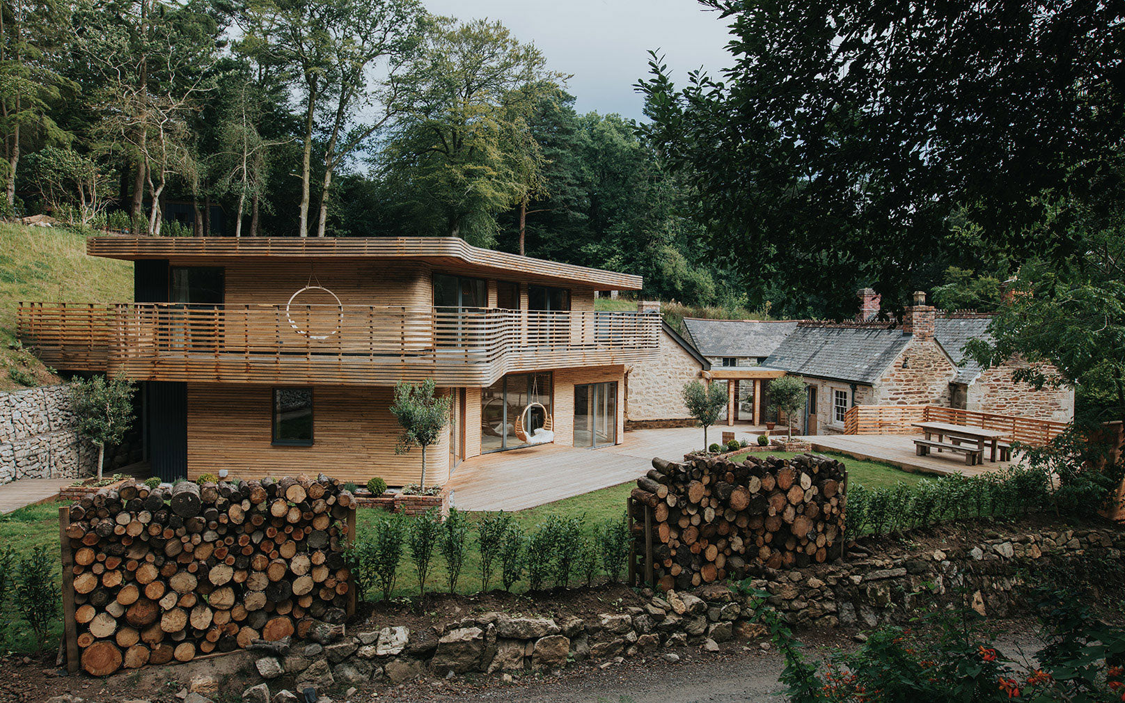 Tom Raffield's steam-bent-wood house.