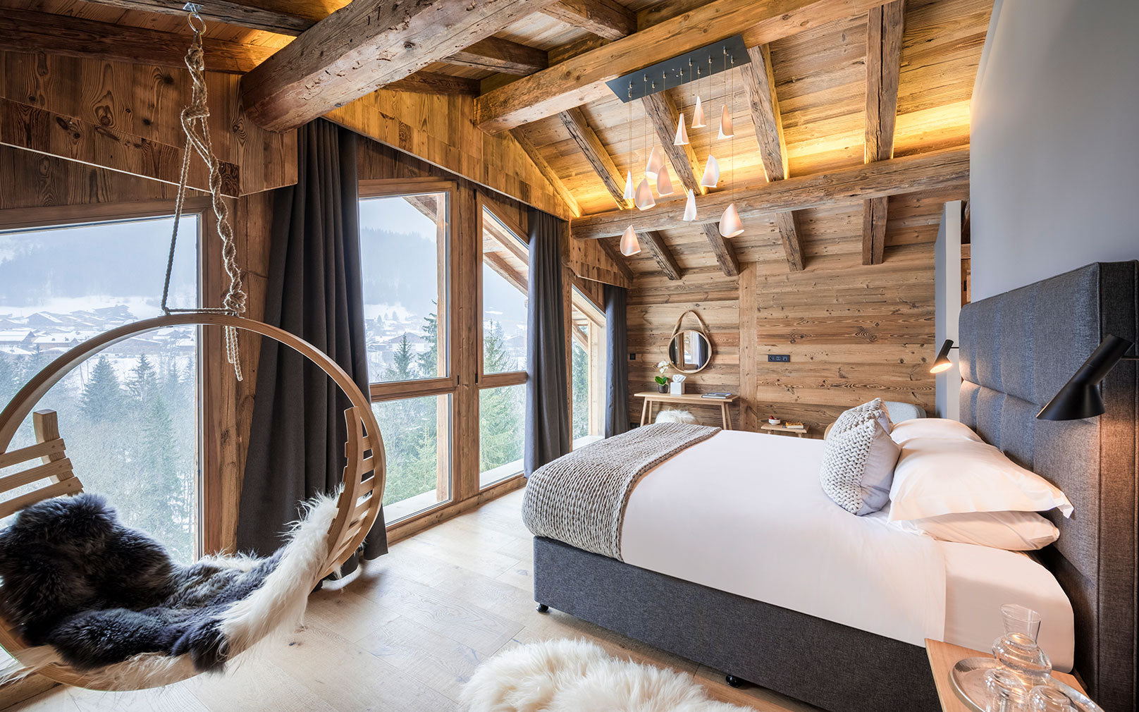 Ski Chalet Interior Design case study: chalet sapphire – tom raffield