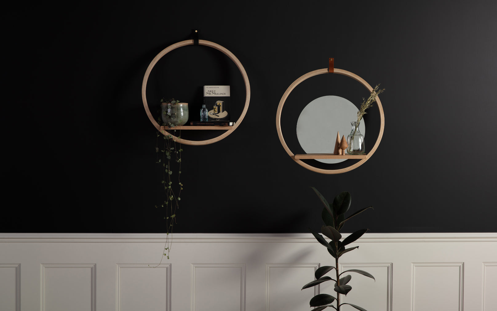 Housel Shelf and Housel Shelf with Mirror