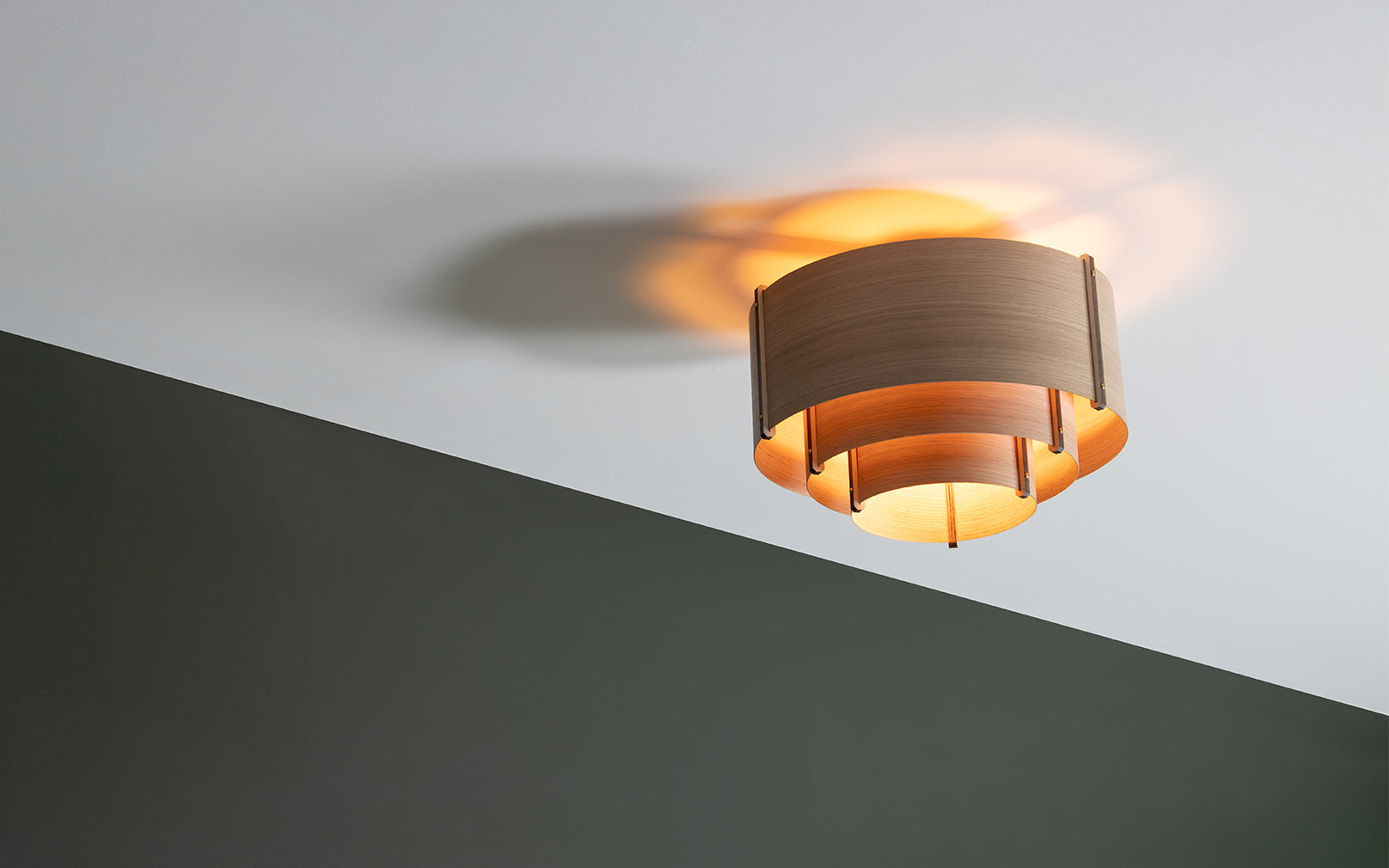 Leven Flush Ceiling Light