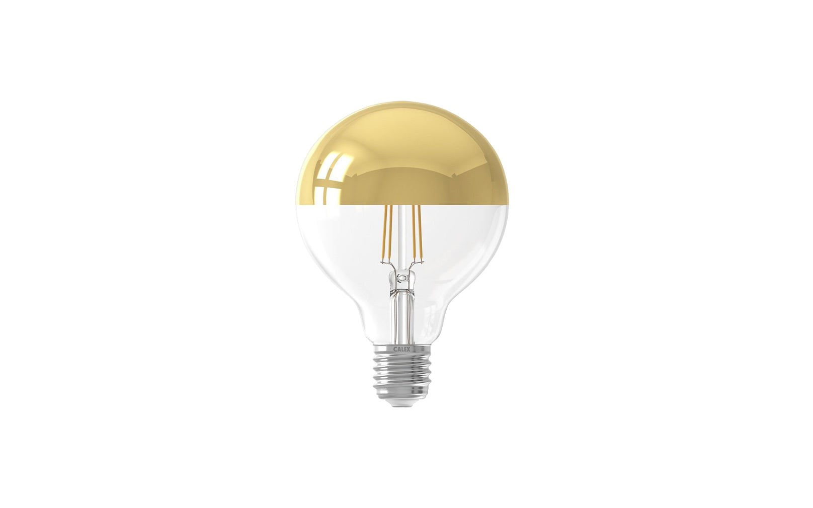Calex LED 4W Crown Gold 95mm E27 Bulb
