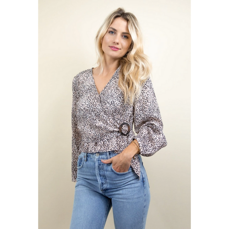Gentle Fawn Oasis Wrap Top