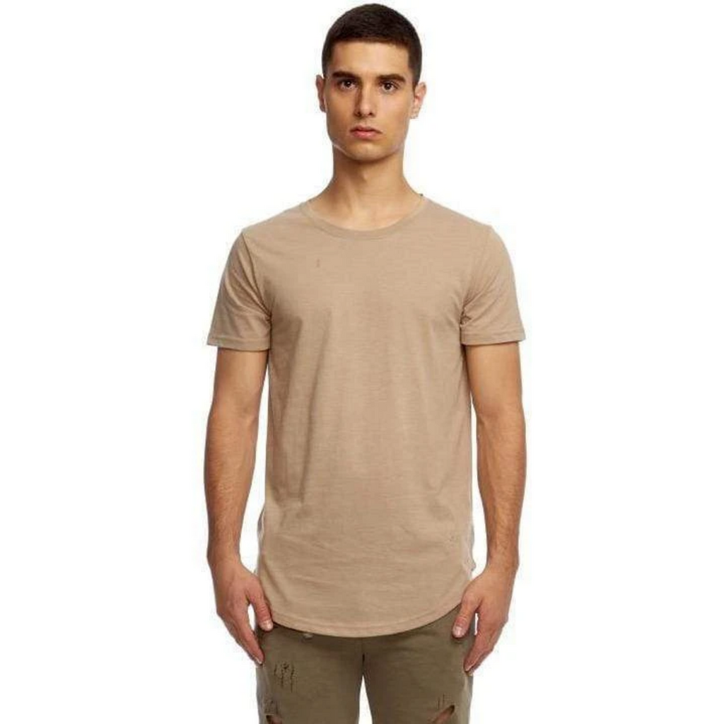 Kuwalla Tee Eazy Scoop Tee - Oxford Tan