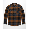 Volcom Caden Plaid Long Sleeve