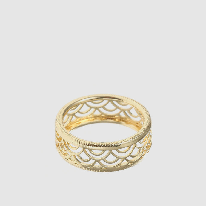 Marrakech Ring in Gold