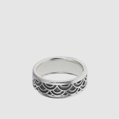 Marrakech Ring with Leather Insert