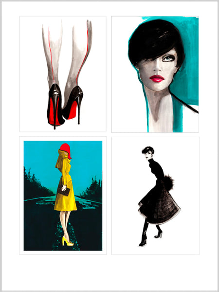 Collection image for Women Prints collection of limited edition giclée prints by Sjoukje Bierma Illustrations