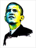 Fashion illustration print of Obama by Sjoukje Bierma - President Barack Obama