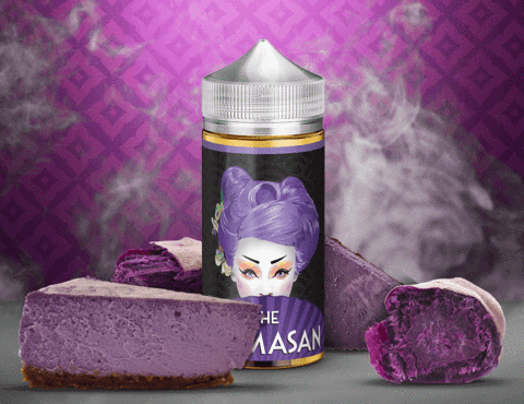 THE MAMASAN- PURPLE CHEESECAKE