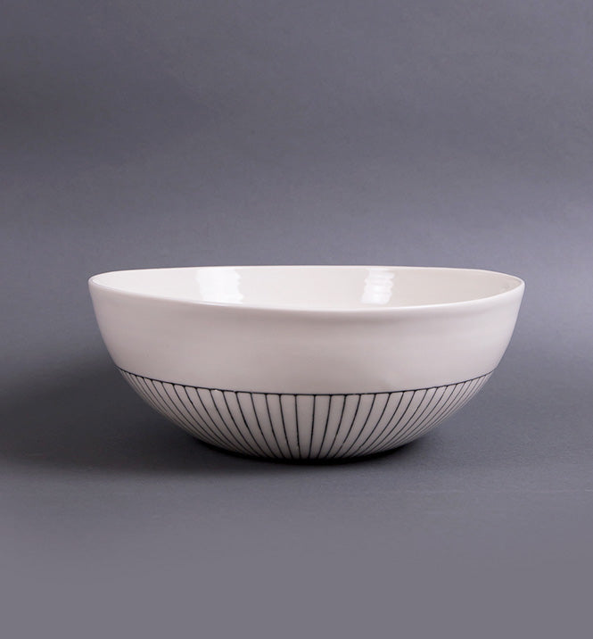 Center Piece Serving Bowl - Open Lip - Eureka