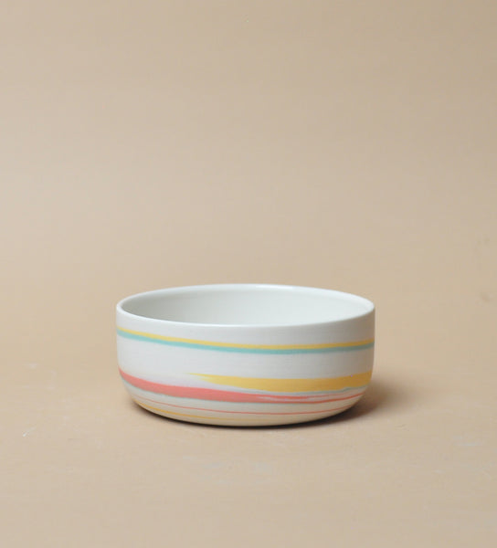 Cereal Bowl - Tri Color - Taffy