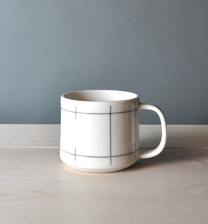 12 oz Mug - Court - Eureka