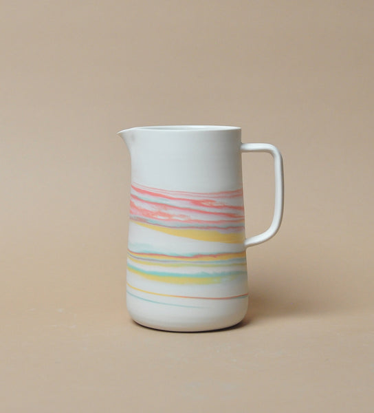 30 oz Pitcher - Tri Color - Taffy