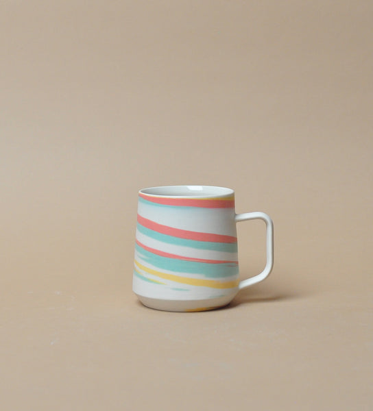 Mug - Tri Color - Taffy