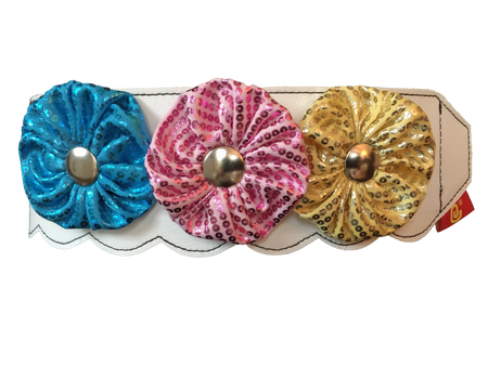 Glitterbug Flower Collar