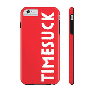 Timesuck Logo Red Phone Case