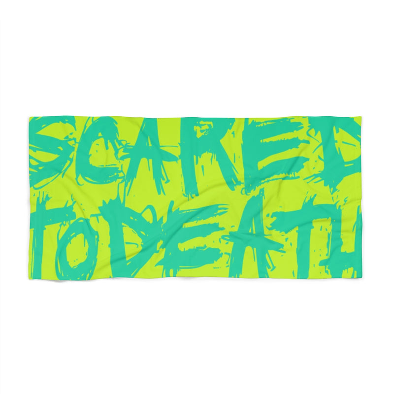 Neon STD Beach Towel