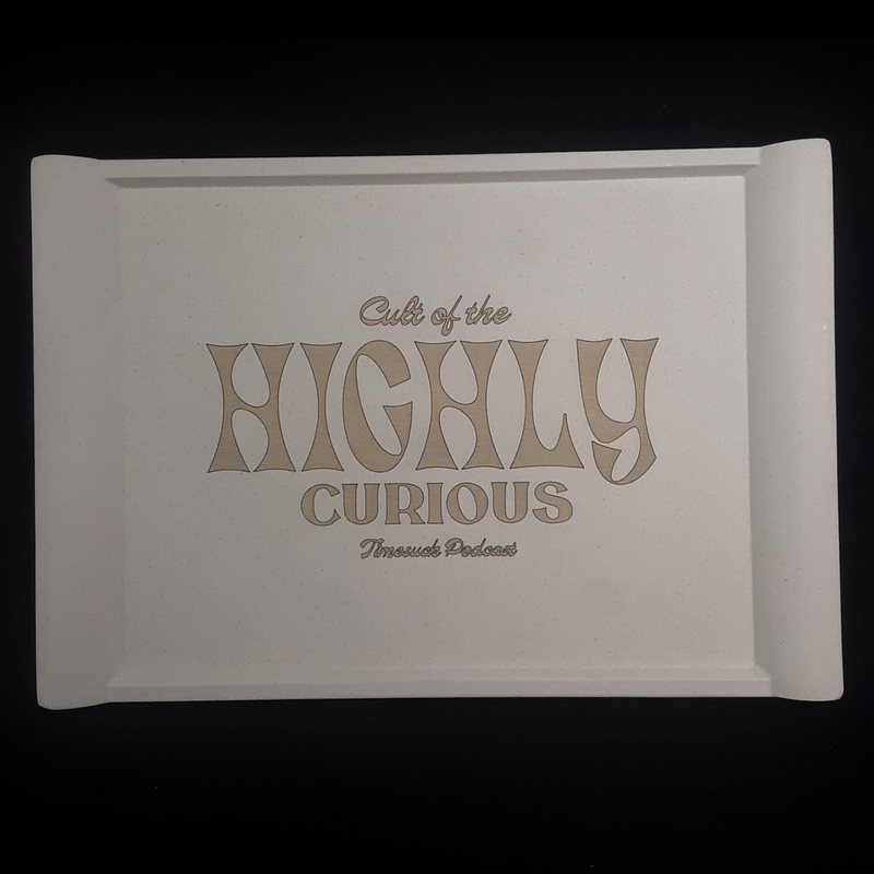 Highly Curious Bamboo Rolling Tray