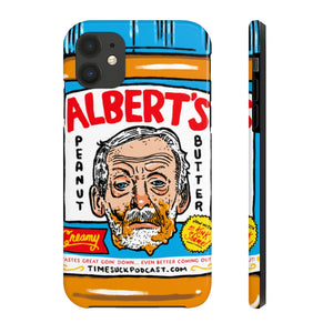 Albert's Peanut Butter Phone Case