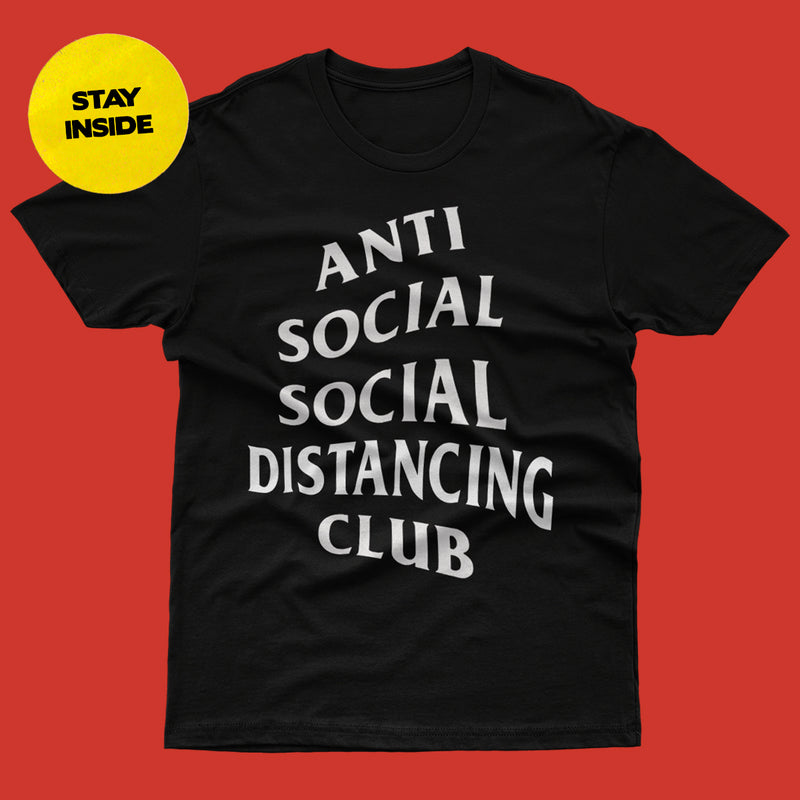 Anti Social Social Distancing Club Tee