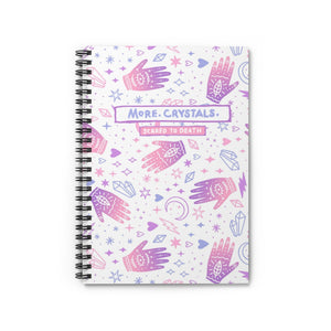 More Crystals Notebook