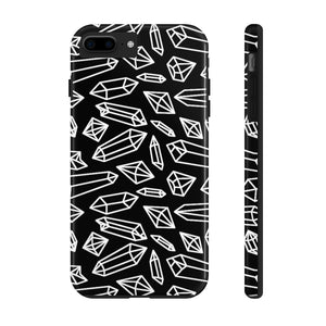 Lynze's Crystals Black Phone Case