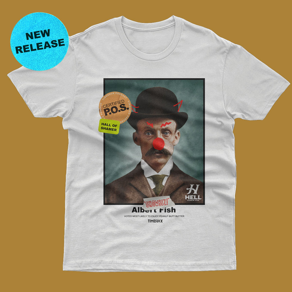 Albert Fish Yearbook Tee