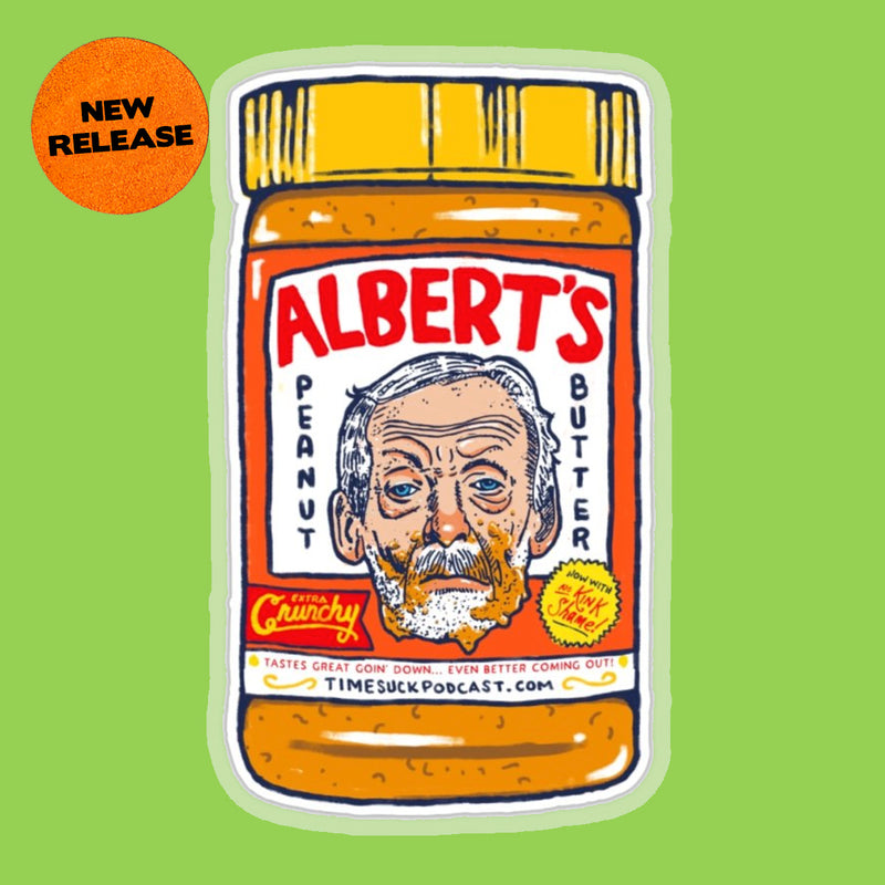 Albert's Crunchy PB Sticker