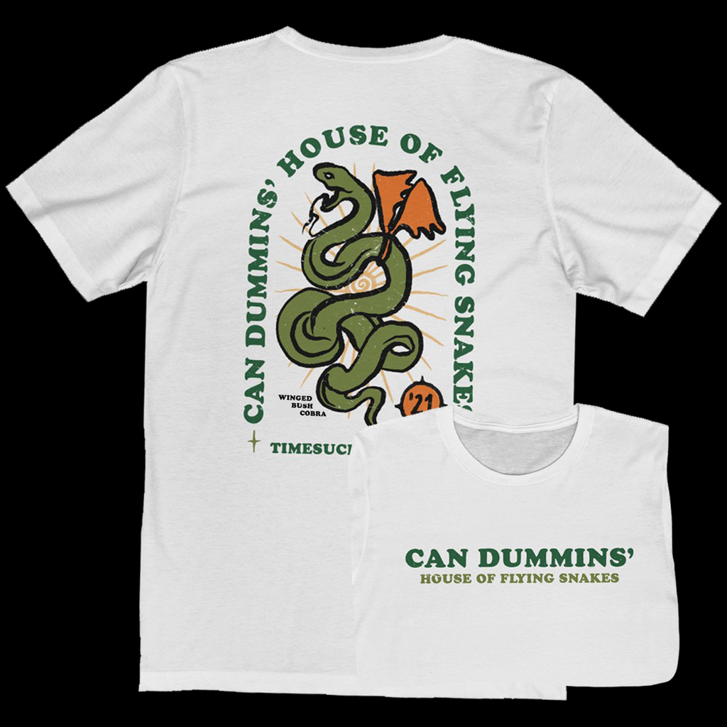 Can Dummins' House Of Flying Snakes Tee