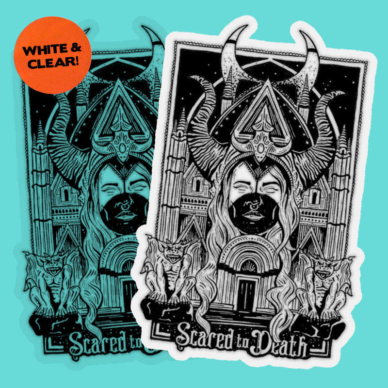 Demon Chapel Sticker